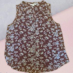 FUN2FUN floral print top blouse medium